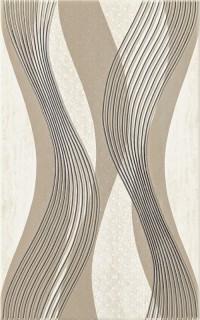 Kwado dekorcsempe Kwadro Sari beige dekorcsempe