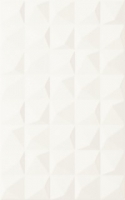 Kwadro Melby Bianco Struktura falicsempe 25 x 40